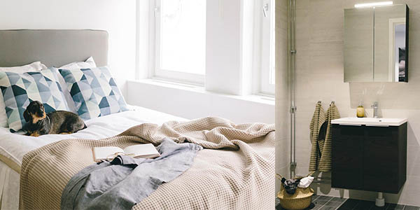 Estocolmo apartamento Battre Boende bien ubicado barato