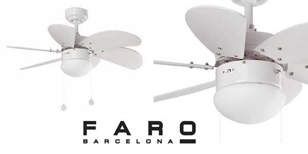 Faro Barcelona Palao ventilador de techo barato