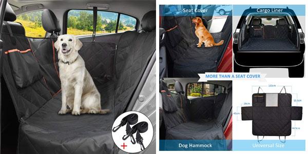 Funda protectora Omorc de coche para mascotas a buen precio en Amazon