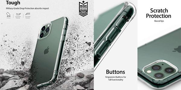 "Funda transparente Ringke Fusion para iPhone 11 Pro 5,8"" barata"