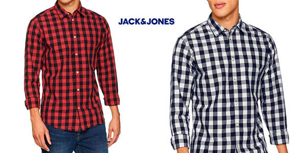 Camisa Jack & Jones JJegingham shirt barata en Amazon