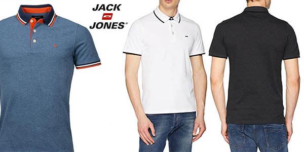 Polo Jack Jones JJepaulos Noos SS barato en Amazon