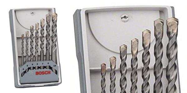 Juego de 7 brocas Bosch 2 607 017 082 para hormigón baratas en Amazon