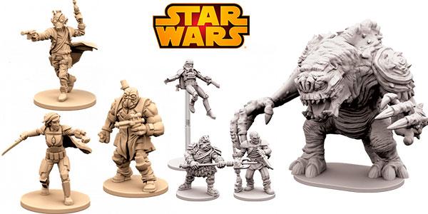 Juego Star Wars Imperial Assault: El reino de Jabba (expansión) barato