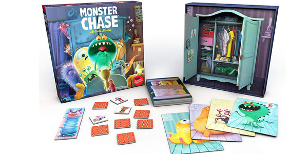 Juego de mesa Monster Chase (SMMC0001 Asmodee) barato en Amazon