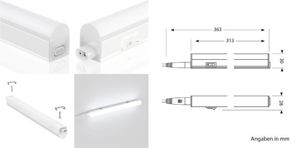 Lámpara LED Rigel para mobiliario chollo en Amazon