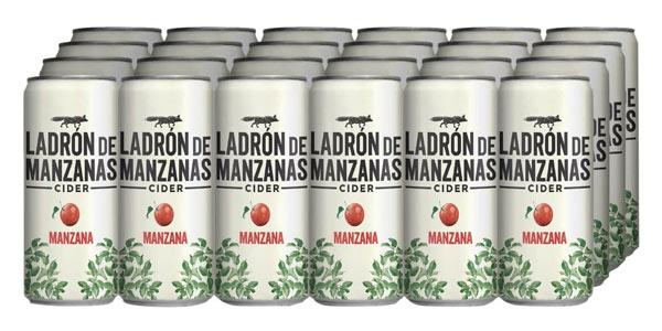 Pack 24 latas Ladrón Manzanas Cider Manzana baratas en Amazon