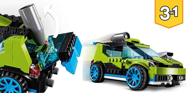 LEGO Creator coche de rally 3 en 1 oferta