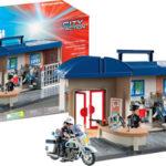 Maletín comisaría de policía Playmobil City Action barato en Amazon