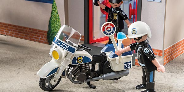 Maletín comisaría de policía Playmobil City Action chollo en Amazon