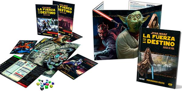 Manual del juego de rol Star Wars: La Fuerza y el Destino barato