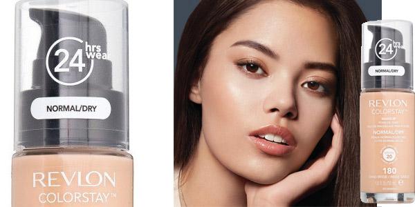 Base de Maquillaje Revlon ColorStay 24H Makeup 180 Sand Beige de 30 ml barata en Amazon