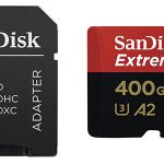 Tarjeta microSDXC SanDisk Extreme PRO A2 de 400 GB