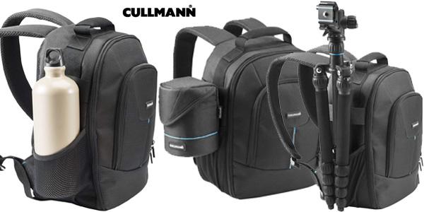 Mochilla ultraligera Cullmann 93782 y resistente al agua para cámara réflex chollo en Amazon