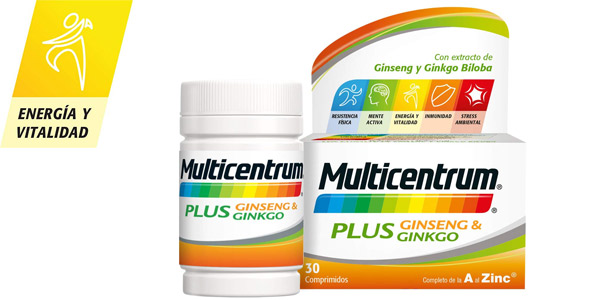Multicentrum Plus 30 Comprimidos barato en Amazon