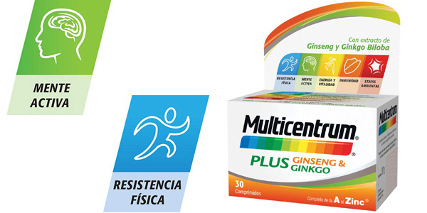 Multicentrum Plus 30 Comprimidos chollo en Amazon