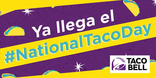 National Taco Day 2019 en Taco Bell