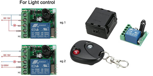 Owsoo transmisor receptor Relec para puertas de garaje barato
