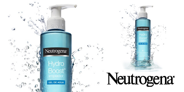 Pack x2 Limpiador Facial Neutrogena Hydro Boost Agua Gel Hidratante de 200 ml/ud chollo en Amazon