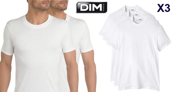 Pack x30 Camisetas interiores Dim Eco de manga corta para hombre barato en Amazon