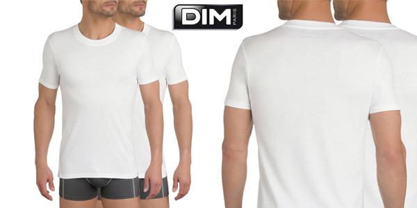 Pack x30 Camisetas interiores Dim Eco de manga corta para hombre chollo en Amazon