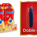 Pack x4 Somat Oro gel lavavajillas vinagre barato en Amazon