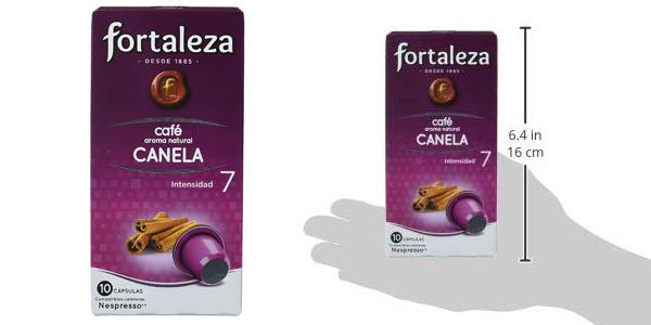 Pack x50 Cápsulas Café Fortaleza Canela chollo en Amazon