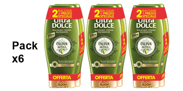 Pack x6 Garnier Original Remedies acondicionador nutrición extrema Oliva Mítica de 250 ml barato en Amazon