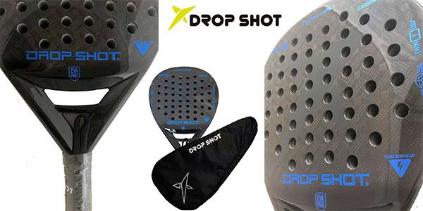 Pala de pádel Drop Shot Dark Pro barata