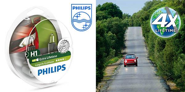 Philips 1225LLECOS2 Longlife Ecovision faros para el coche baratos