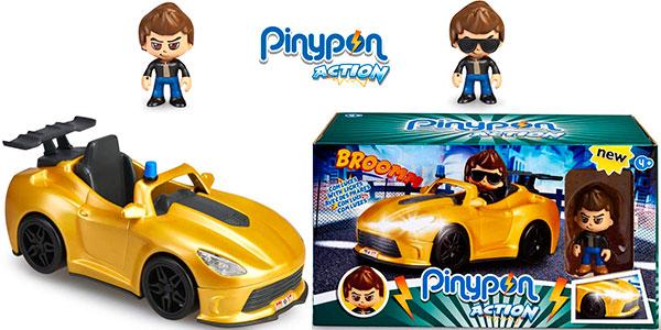 Chollo Super Coche Espía de Pinypon Action con minifigura y accesorios