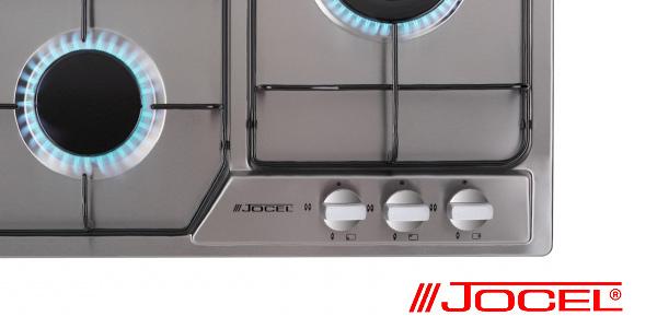 Placa de gas Encastrable Jocel JP3GI008930 de 3 Hornillos chollazo en Amazon