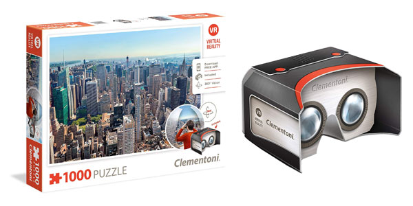 Comprar puzle Clementoni Virtual Reality New York barato en Amazon