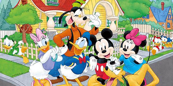 puzle Mickey Mouse de 60 piezas Lisciani Giochi oferta