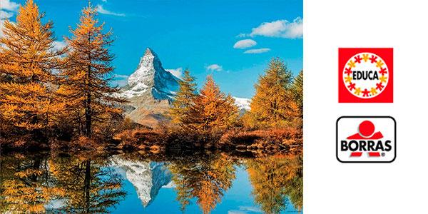 Puzle Monte Cervino En Otoño (Educa Borrás) de 1.000 piezas barato