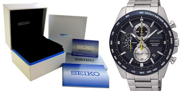 Reloj Cronógrafo Seiko SSB259P1 para hombre chollo en Amazon