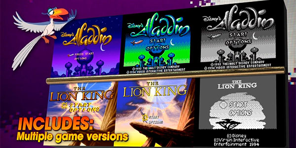 Disney Classic Games: Aladdin and The Lion King para PS4, Xbox One y Switch al mejor precio