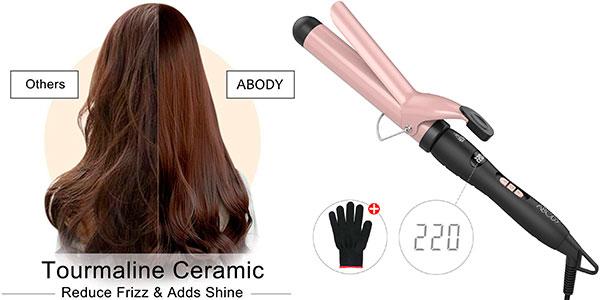 Rizador de pelo Abody con recubrimiento cerámico de 32 mm barato