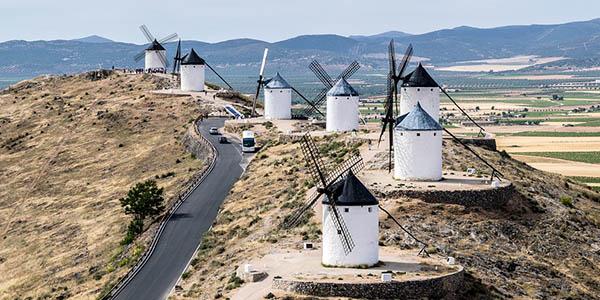 ruta por Consuegra y los molinos de viento oferta