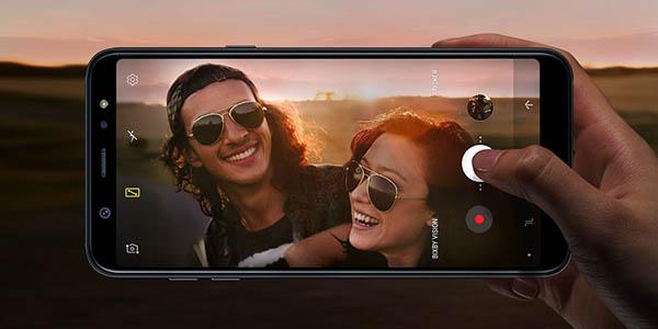 Samsung Galaxy A6 Plus en Amazon