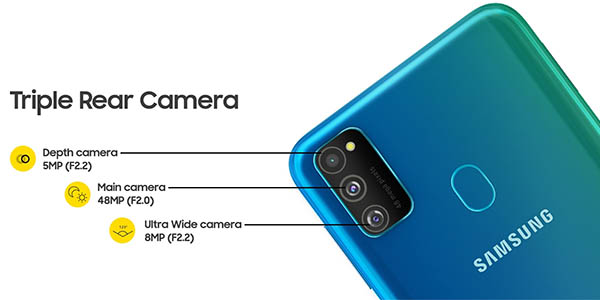 Smartphone Samsung Galaxy M30s en Amazon