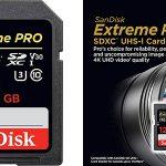 Tarjeta de memoria SanDisk Extreme PRO SDXC de 128 GB