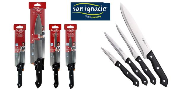 Set 4 Cuchillos de cocina San Ignacio Toledo PK1464 barato en Amazon