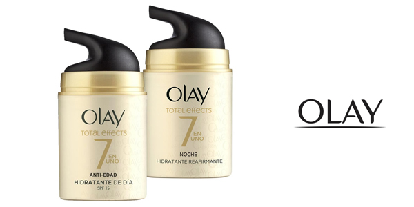 Pack x2 Olay Total Effects Anti-Ageing 7-in-1 Anti-Aging Moisturiser chollo en Amazon