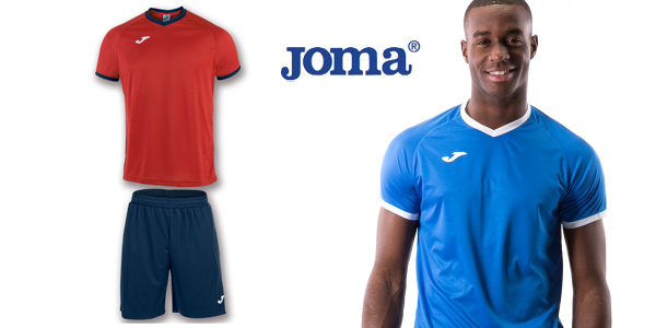 Chollo Equipación Joma Academy de camiseta y pantalón por
