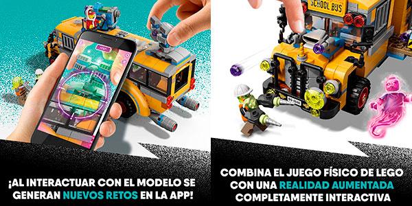 Autobús de Intercepción de LEGO Hidden Side con 6 minifiguras barato