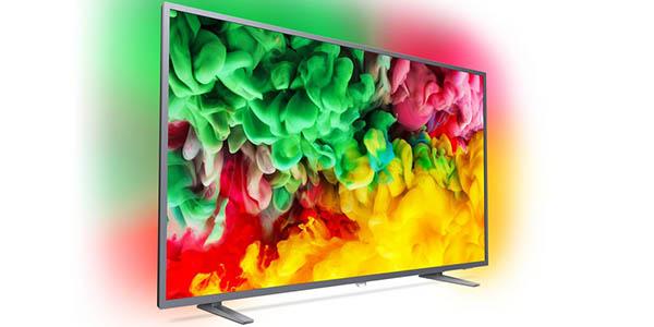 """Smart TV Philips 50PUS6704/12 de 50"""" UHD 4K con Ambilight 3 en Amazon"""