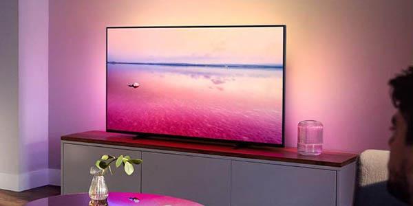 """Smart TV Philips 50PUS6704/12 de 50"""" UHD 4K con Ambilight 3 barato"""