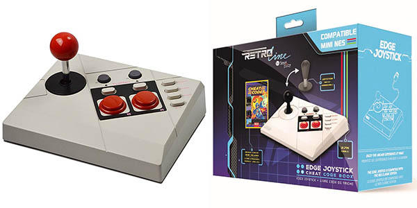 Controlador Steelplay Joystick Edge para Nes Classic Mini + Libro de cheats