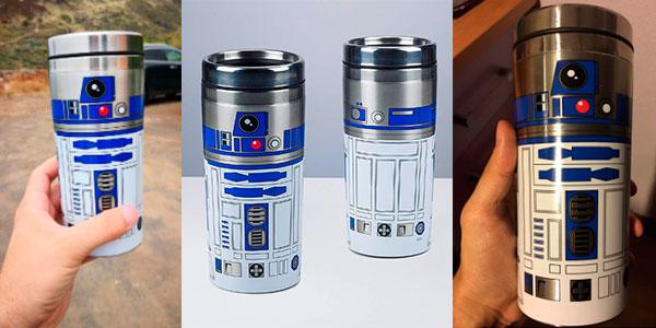 Taza de viaje R2-D2 de Star Wars (450 ml) barata